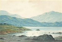 near lough alton, county donegal by douglas alexander