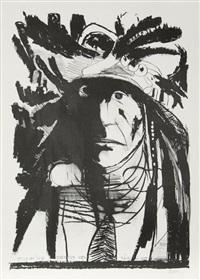 spies on his enemies - crow by leonard baskin