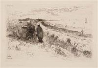 the lido, venice by otto henry bacher