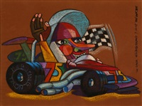 the racer by jerry elizalde navarro