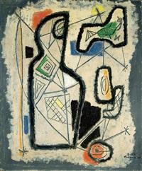 abstract figures by aharon kahana