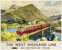 the west highland line, british railways by jack merriott