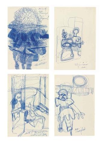 untitled 4 works by eva hesse