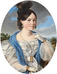 portrait of a lady by joseph kröpsch