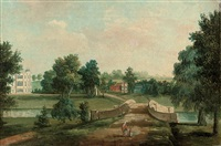 the elysian garden at audley end, saffron walden by william tomkins