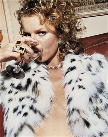 eva herzigova paris for vogue italia by michel comte
