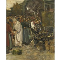 at the marketplace by gaston hochard