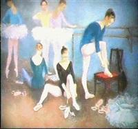 avant le cours de dance by anatoly reipolsky