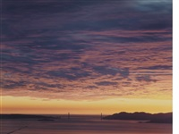 golden gate bridge, 2.13.01, 5:59pm by richard misrach