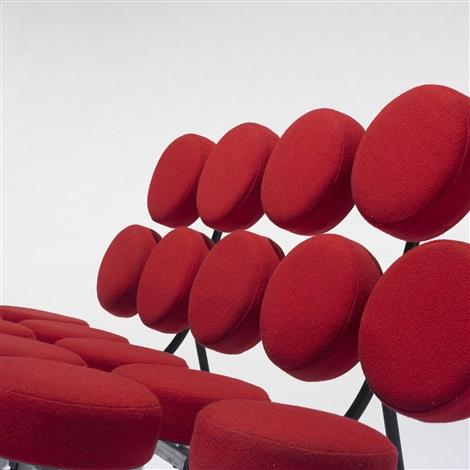 marshmallow sofa by george nelson associates