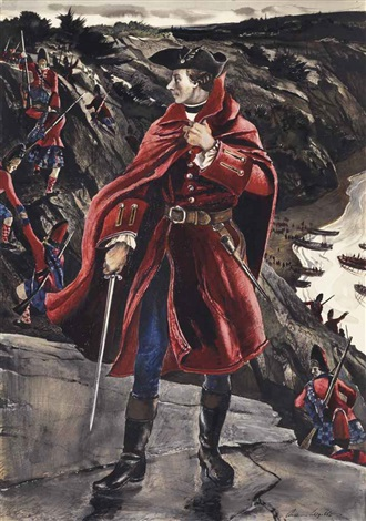 general wolfe at quebec by andrew wyeth