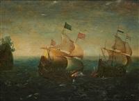 combat naval by hendrik cornelisz vroom