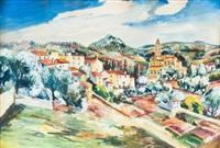 le village dans la montagne by elisée maclet