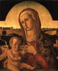 the madonna and child by lazzaro di jacopo bastiani