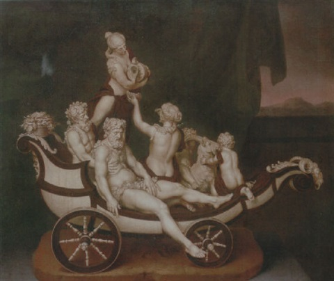 the chariot of silenus by johann eberhard ihle