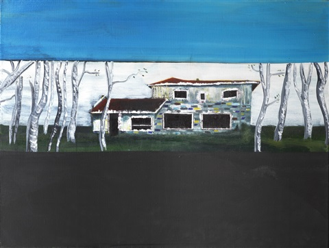 road house by peter doig