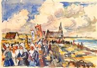 pardon breton by pierre langlade