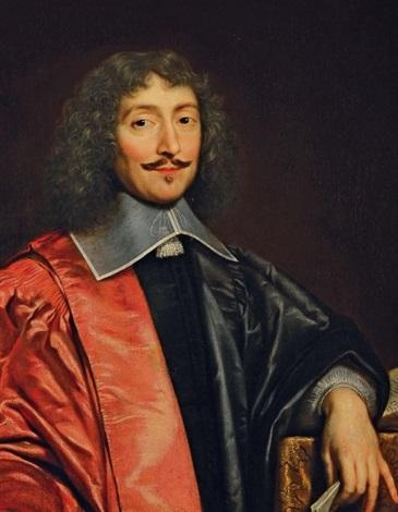 3771b318c85e Portrait du Cardinal de Richelieu by Philippe de Champaigne on artnet