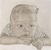 bébé aux lunettes by xu yongkang