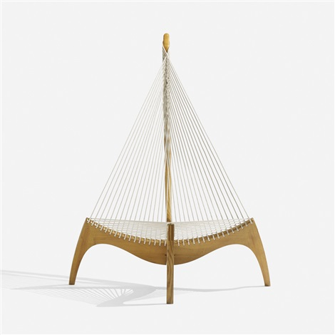 harp chair by jorgen hovelskov