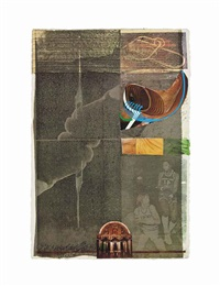 arcanum x (from arcanum) by robert rauschenberg