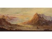 paysage orientaliste by m. p. auzale