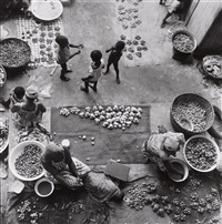 markt in abidjan by paul almasy