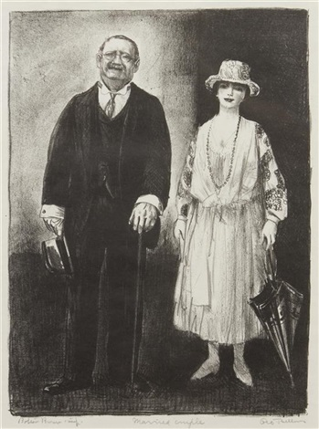 married couple by george wesley bellows