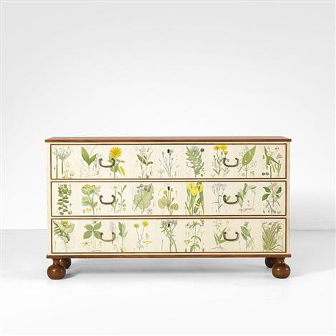 flora commode by josef frank on artnet. Black Bedroom Furniture Sets. Home Design Ideas
