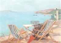 terrace at balcic by cecilia cutescu storck