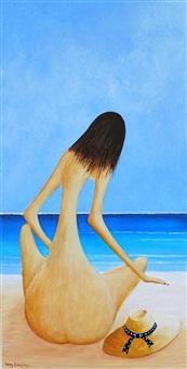 beach girl by terry cousins