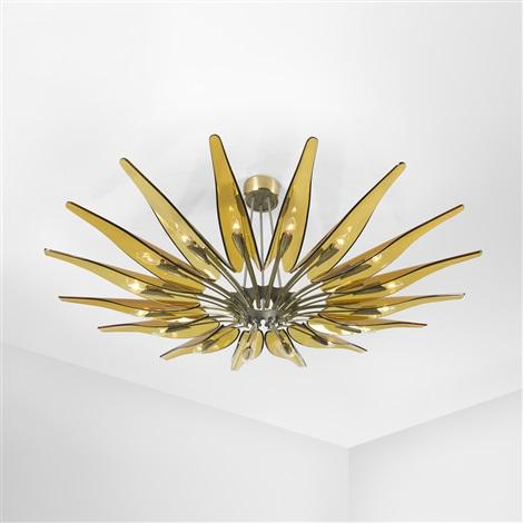 dalia chandelier, model 1563a by fontana arte