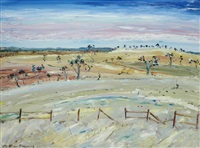australian landscape by matthew perceval