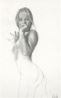jeune fille by aslan