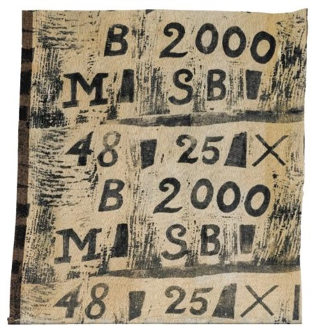 letters and numbers by ben nicholson