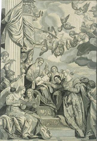 die vermählung der heiligen katharina mit dem jesusknaben after veronese by john baptist jackson