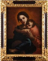 vierge à l'enfant by giovanni lanfranco