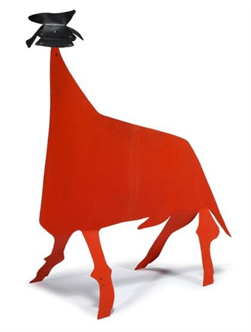 the red bull by alexander calder