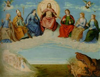 the last judgement by girolamo da santacroce
