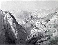 mountainous landscape by h. irving marlatt