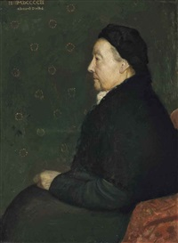 portrait of the artist's grandmother by edmund dulac