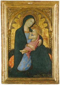 the madonna of humility by andrea di bartolo
