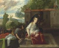 escena pastoral by juan rodríguez juárez