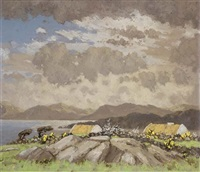west of ireland cottages by mabel young