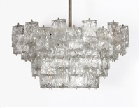 monumental chandelier by barovier & toso (co.)