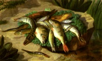 nature morte aux poissons by grosbon