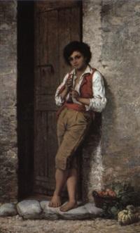 italian boy by attilio baccani