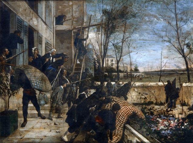 scène de la guerre de 1870 by henri charles e dujardin beaumetz