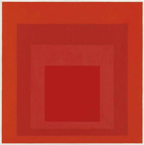study for homage to the square by josef albers