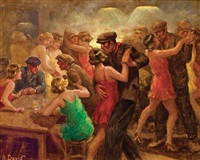 bar scene by andré david